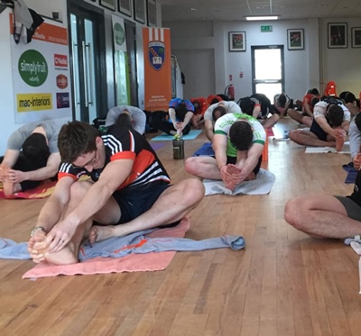 Hot Yoga for Rugby Players